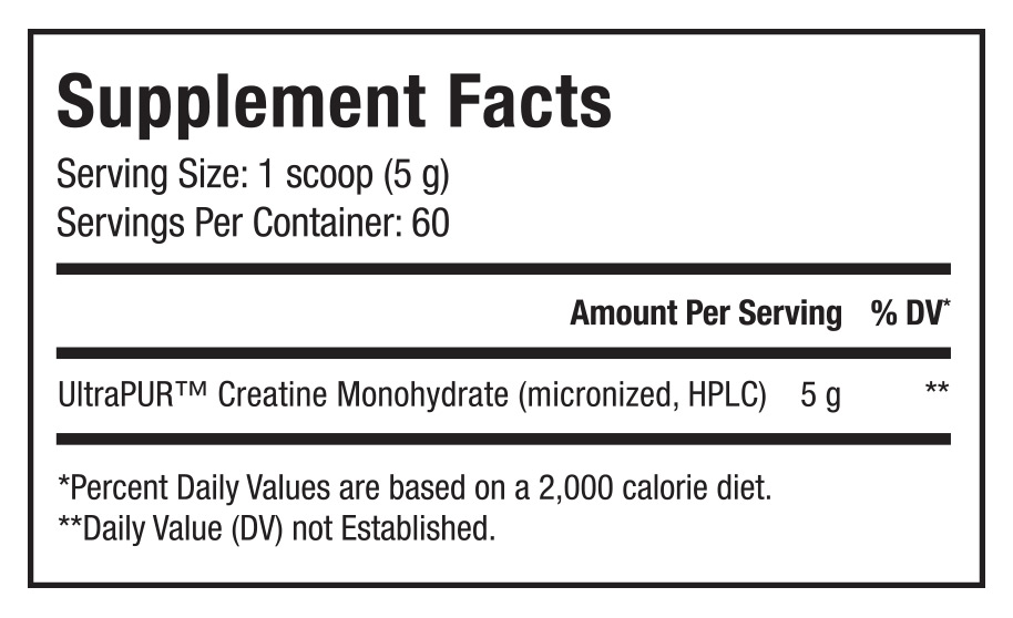 Creatine Supplement Facts